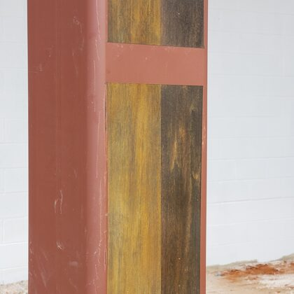 Rust Effect Art District Project (Sample on Column)