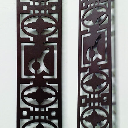 Metal Wall Art Decor (Sample)